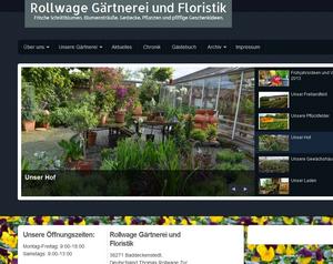 Gärtnerei und Floristik Rollwage